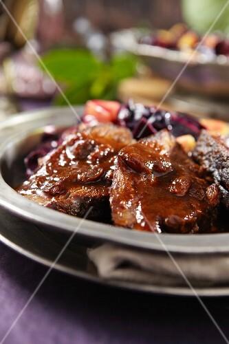 Sauerbraten (Marinated pot roast)