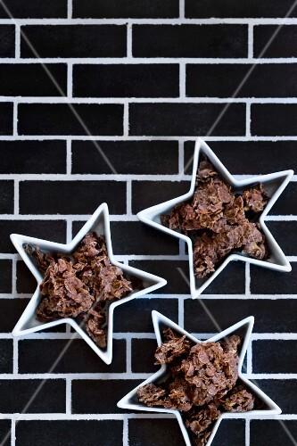 Chocolate crispy cakes