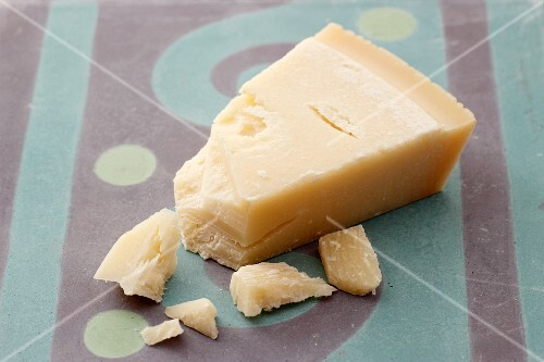 Grana Padano cheese, crumbled