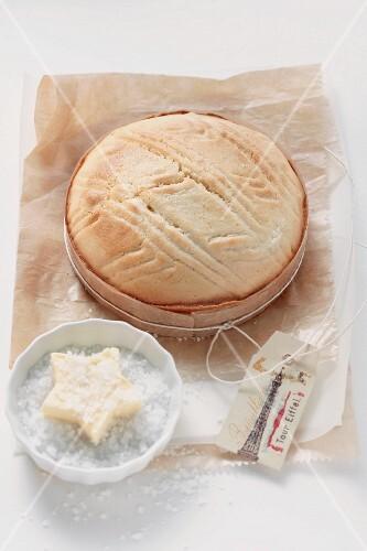 Gâteau breton (butter cake, Brittany, France)