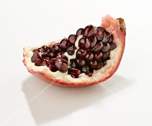 A chunk of pomegranate