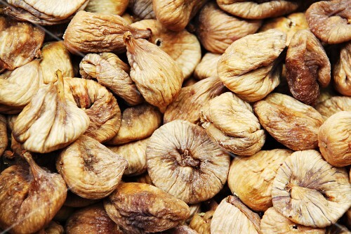 Dried figs (filling the image)
