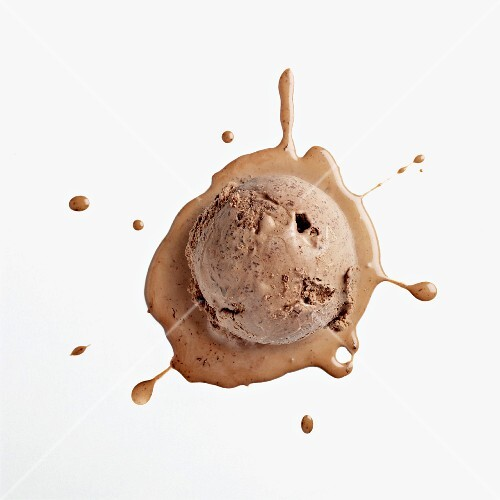 Chocolate Ice Cream / splat