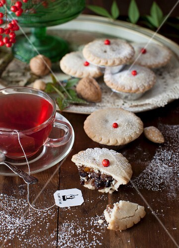 Whisky Laced Mince Tarts with a Cup of Tea