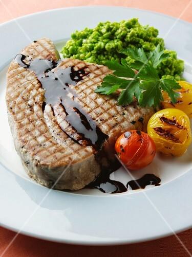 Griddled Tuna