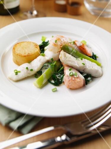 Fish Pot Au Fer
