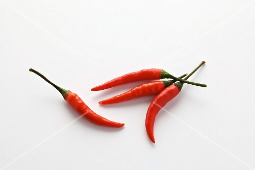 Four red chillies