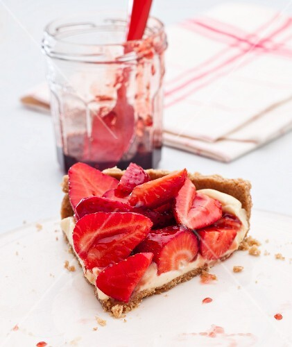 Strawberrytart with Lemon Curd