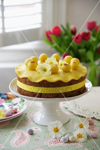 Simnel Cake (Easter cake, England)