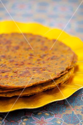 Missi roti (Indian flatbreads)