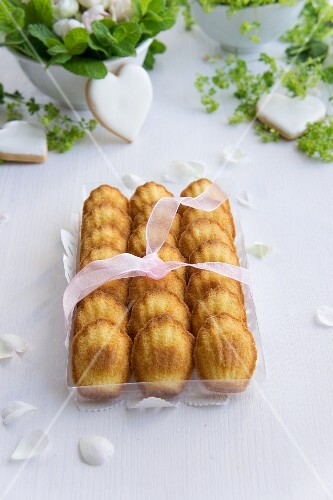 Madeleines as a gift