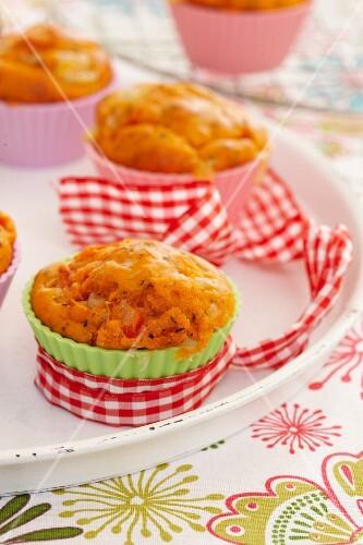 Muffin alla calabrese