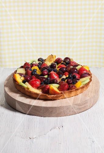 A Whole Fruit Tart