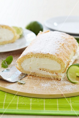 Lime roulade