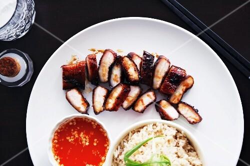 Char siu (barbecued pork, China)