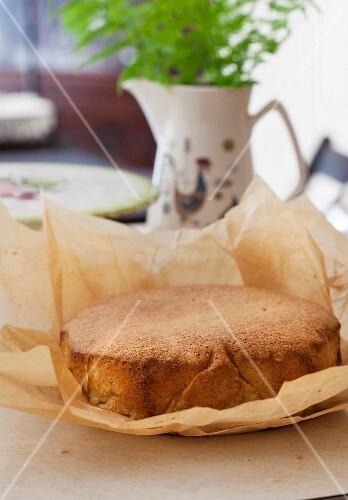 Russian Sharlotka; Apple Cake