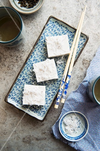 Coconut dessert from Asia