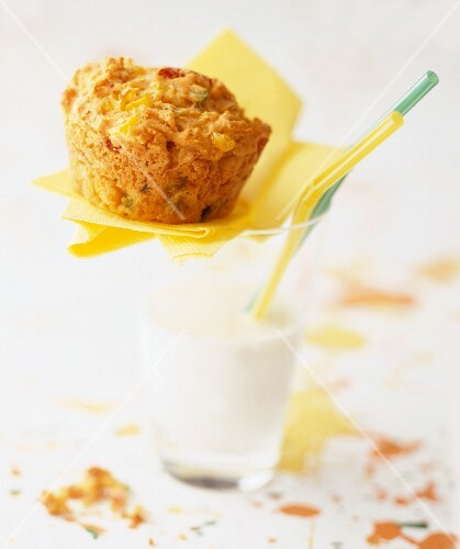 Sweetcorn & vegetable muffin
