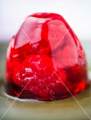 Raspberry jelly (close-up)