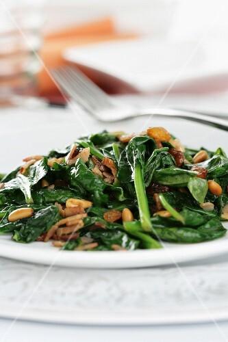 Spanish spinach tortilla
