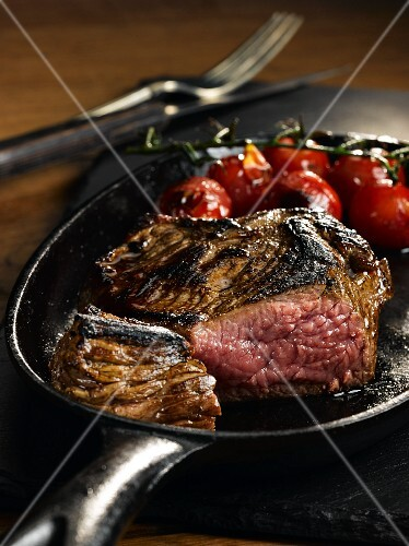 Bavette Steak 8 oz, Medium rare