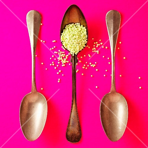 Couscous with three spoons
