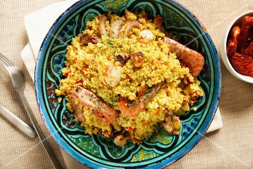 Cous cous, Trapani, Sicily, Italy