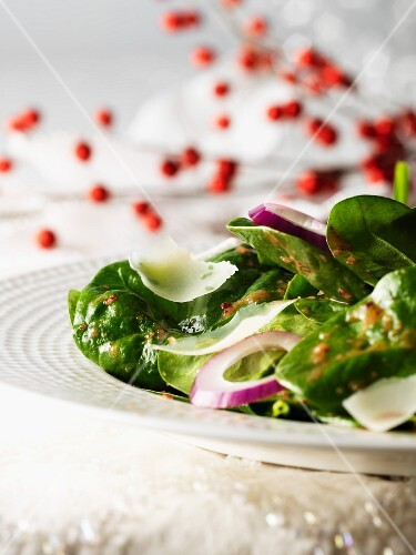 Spinach Salad Cranberry Vinaigrette