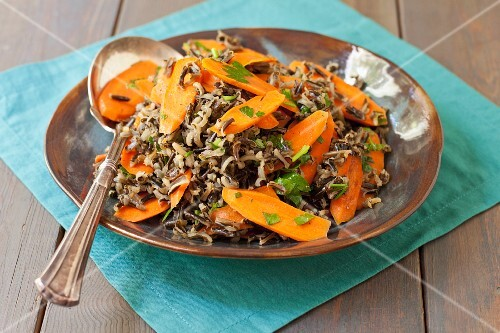 Wild Rice with Carrots