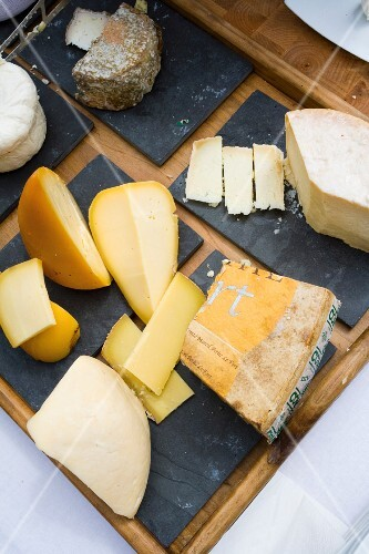 Cheeses from Galicia, north western Spain