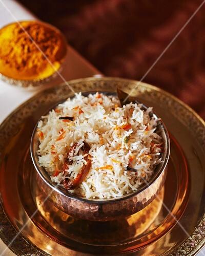 Kashmiri pilau rice (India)