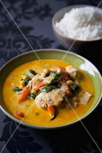 Chicken curry (Thailand)