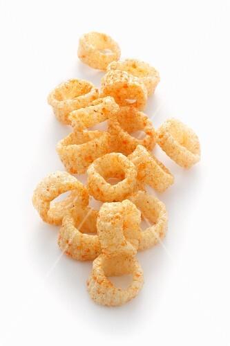 Wheat and potato crisps