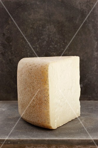 A piece of pecorino