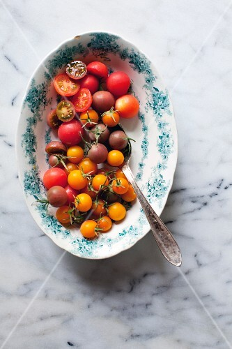 Colorful cocktail tomatoes