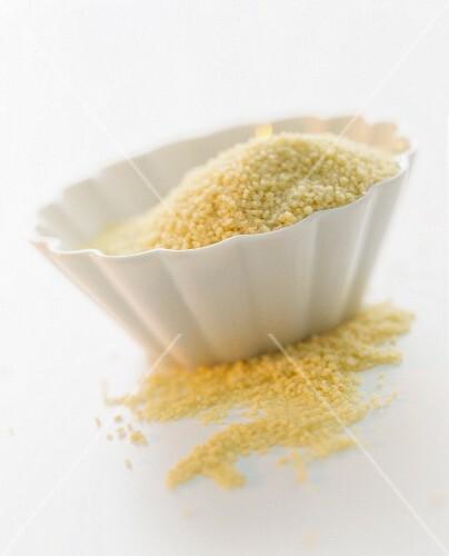 A bowl of couscous