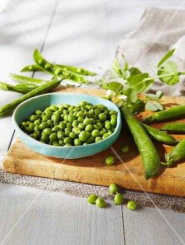Fresh Peeled Peas