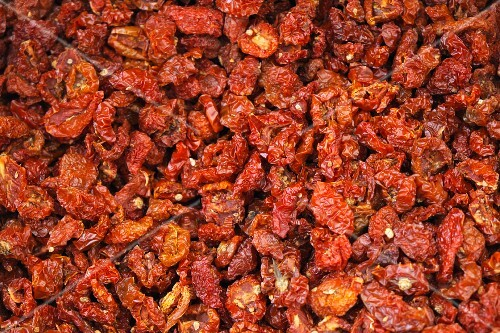 Lots of dried tomatoes (fills the screen)