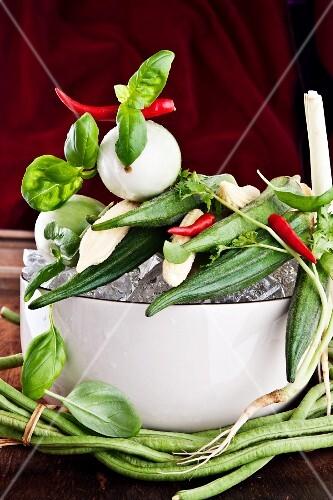 Fresh Thai vegetables