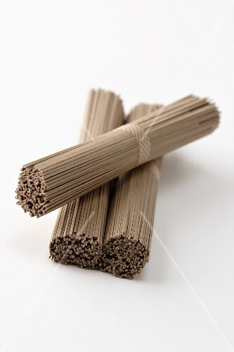 Japanese noodles made from buckwheat flour