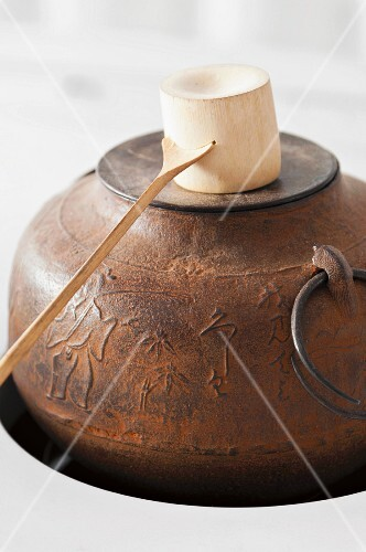 Asian tea kettle
