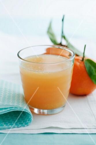 Satsuma and grapefruit drink