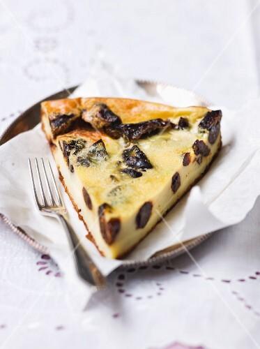 Far Breton (Prune pudding, France)