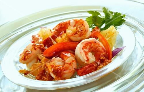 Shrimps Som Tam (Thailand)