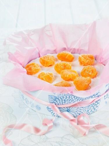 Yemas de Avila (confectionery from Spain) as a gift
