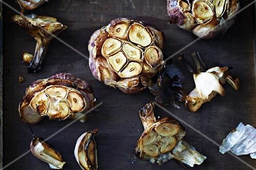 Whole Roasted Garlic Bulbs