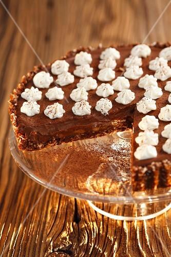 Banoffee Pie with chocolate