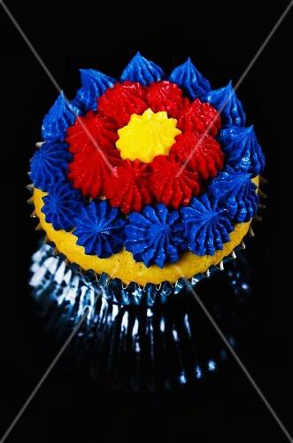 An energy drink cupcake