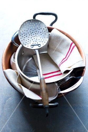 Kitchen utensils for making preserves