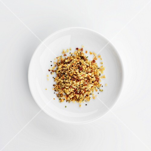 A plate of lemon pepper